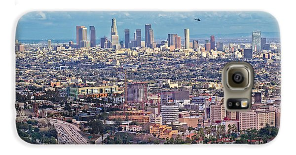 Downtown Los Angeles Galaxy S6 Case by Kim Wilson