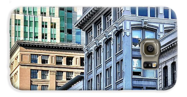 Downtown San Francisco Galaxy S6 Case by Julie Gebhardt
