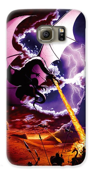Dragon Attack Galaxy S6 Case by The Dragon Chronicles - Steve Re