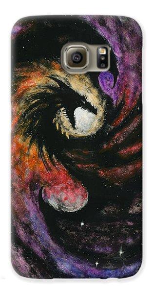 Dragon Galaxy S6 Case - Dragon Galaxy by Stanley Morrison