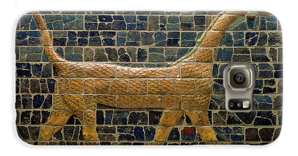 Dragon Of Marduk - On The Ishtar Gate Galaxy S6 Case by Anonymous