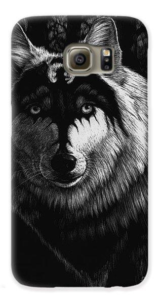 Dragon Galaxy S6 Case - Dragon Wolf by Stanley Morrison