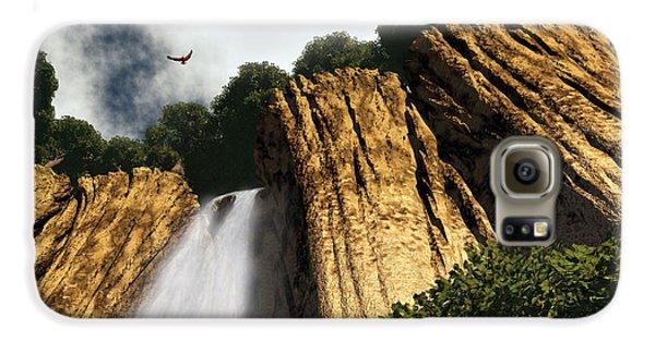 Dragons Den Canyon Galaxy S6 Case by Richard Rizzo
