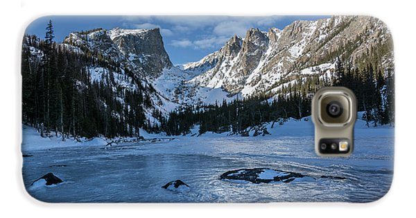 Galaxy S6 Case featuring the photograph Dream Lake Morning by Aaron Spong