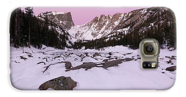 Galaxy S6 Case featuring the photograph Dream Lake - Pre Dawn by Aaron Spong