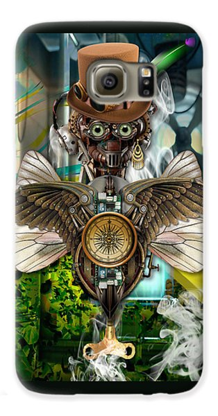Dreams Of Flying  In A Fantasy World Galaxy S6 Case by Marvin Blaine