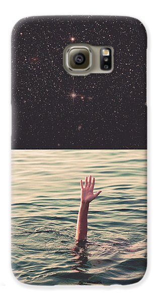 Drowned In Space Galaxy S6 Case by Fran Rodriguez