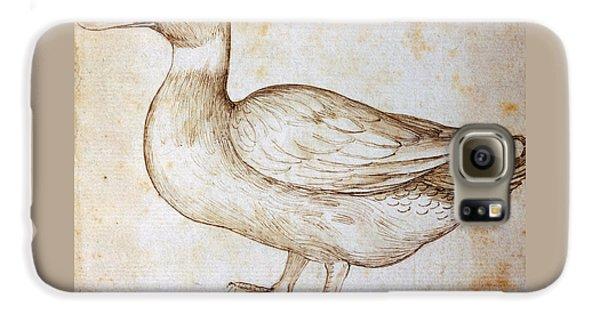 Duck Galaxy S6 Case by Leonardo Da Vinci