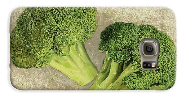 Due Broccoletti Galaxy S6 Case by Guido Borelli