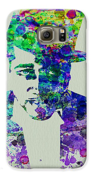 Saxophone Galaxy S6 Case - Duke Ellington by Naxart Studio