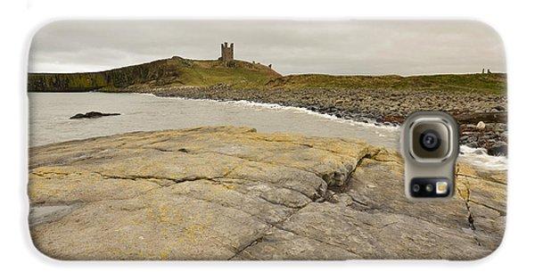 Castle Galaxy S6 Case - Dunstanburgh Castle by Smart Aviation