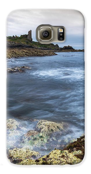 Castle Galaxy S6 Case - Dunure Castle Scotland  by Mark Mc neill