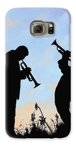 Trumpet Galaxy S6 Case - duo by Guido Borelli