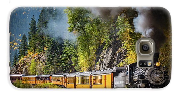 Durango-silverton Narrow Gauge Railroad Galaxy S6 Case by Inge Johnsson