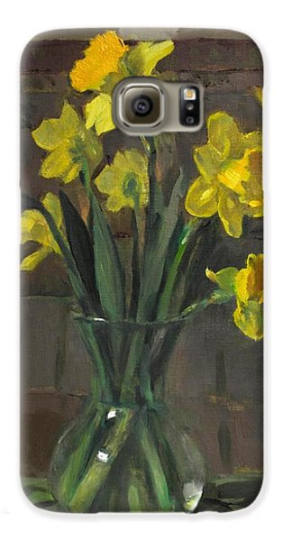 Dutch Master Narcissus In An Hourglass Vase Galaxy S6 Case