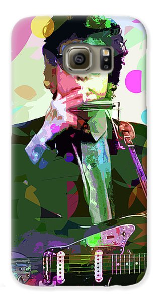 Dylan In Studio Galaxy S6 Case by David Lloyd Glover