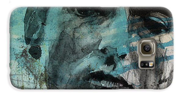 Dylan - Retro  Maggies Farm No More Galaxy S6 Case by Paul Lovering