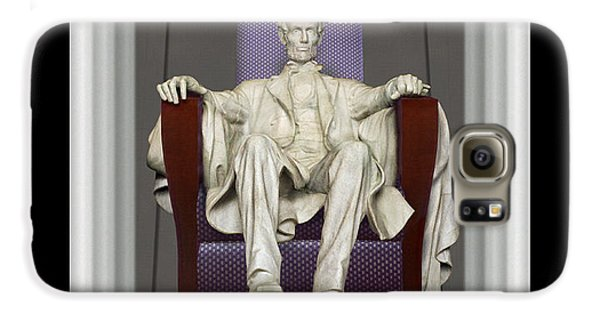 Ea-z-chair Lincoln Memorial Galaxy S6 Case by Mike McGlothlen