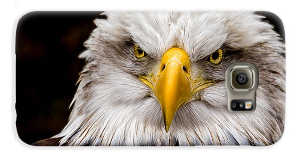 Defiant And Resolute - Bald Eagle Galaxy S6 Case