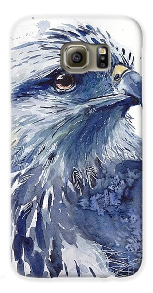 Pigeon Galaxy S6 Case - Eagle Watercolor by Suzann's Art