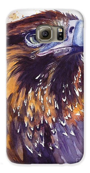 Pigeon Galaxy S6 Case - Eagle's Head by Suzann's Art