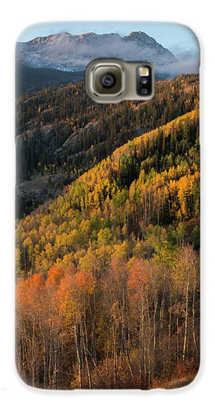 Galaxy S6 Case featuring the photograph Eagle's Nest Peak Vertical by Aaron Spong