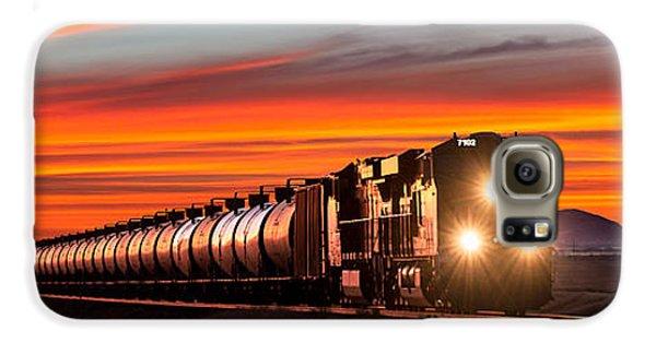 Train Galaxy S6 Case - Early Morning Haul by Todd Klassy