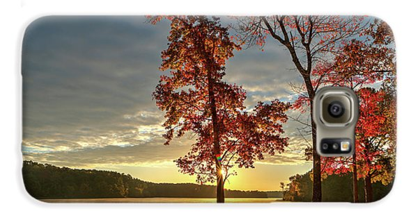 East Texas Autumn Sunrise At The Lake Galaxy S6 Case