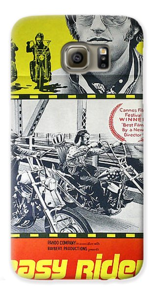 Easy Rider Movie Lobby Poster  1969 Galaxy S6 Case