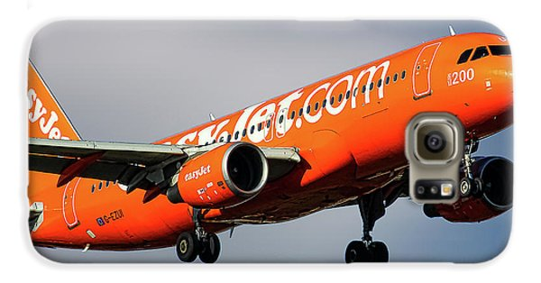 Jet Galaxy S6 Case - Easyjet 200th Airbus Livery Airbus A320-214 by Smart Aviation