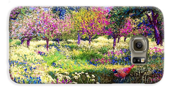 Echoes From Heaven, Spring Orchard Blossom And Pheasant Galaxy S6 Case