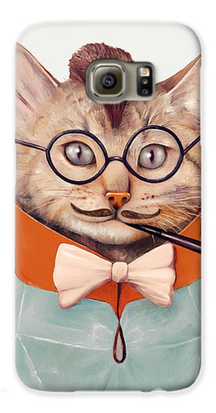 Eclectic Cat Galaxy S6 Case by Animal Crew