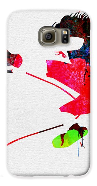Eddie Watercolor Galaxy S6 Case