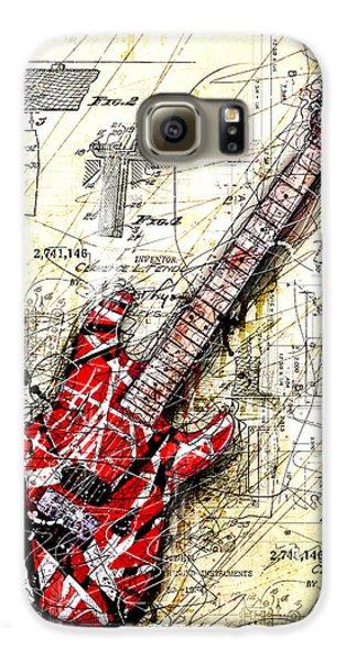 Van Halen Galaxy S6 Case - Eddie's Guitar 3 by Gary Bodnar