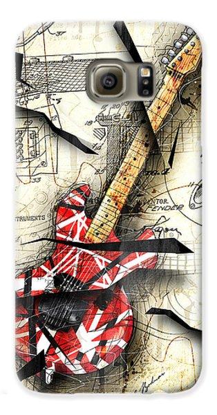 Van Halen Galaxy S6 Case - Eddie's Guitar by Gary Bodnar
