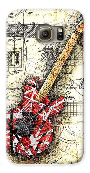 Eddie's Guitar II Galaxy S6 Case