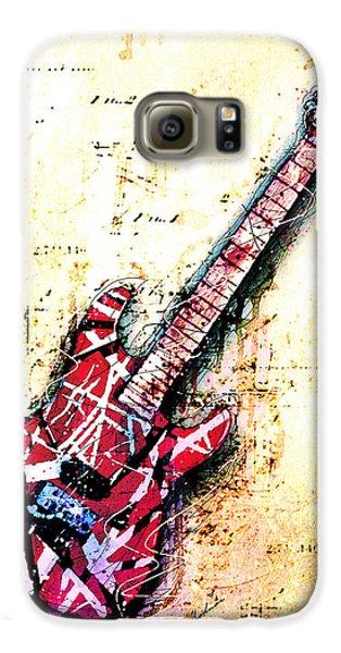 Van Halen Galaxy S6 Case - Eddie's Guitar Variation 07 by Gary Bodnar