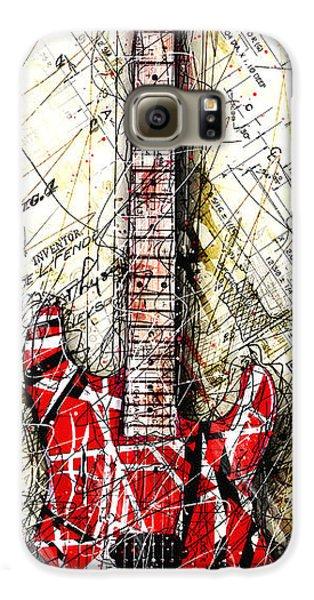 Eddie's Guitar Vert 1a Galaxy S6 Case