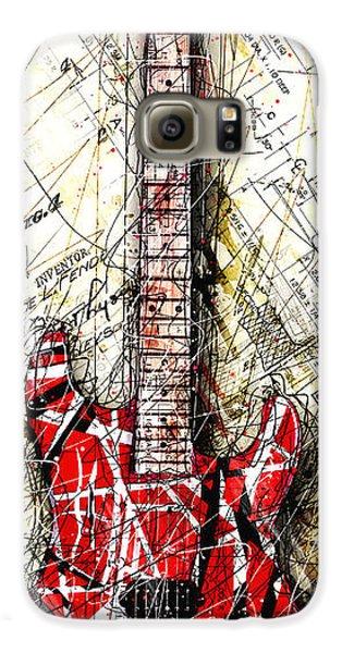 Eddie's Guitar Vert 1a Galaxy S6 Case by Gary Bodnar