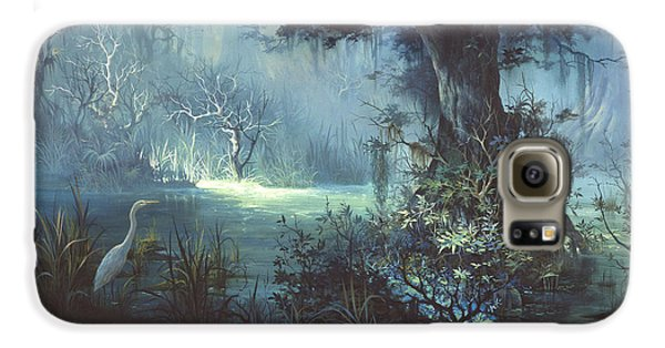 Egret In The Shadows Galaxy S6 Case