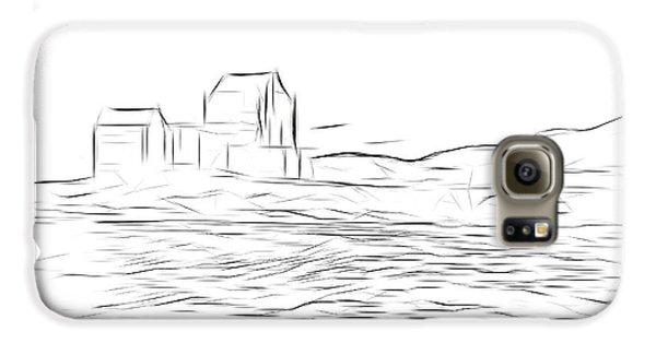 Castle Galaxy S6 Case - Eilean Donan Castle Digital Art by Smart Aviation