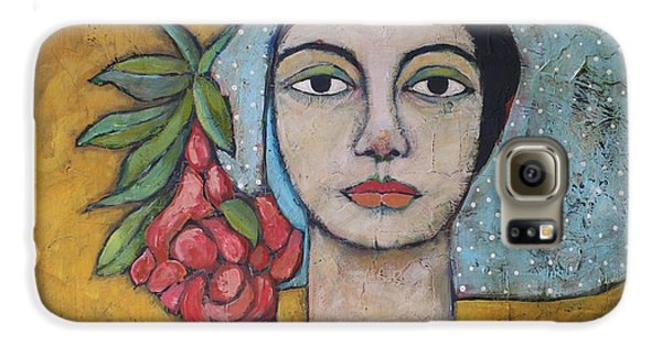 Portraits Galaxy S6 Case - Eileen by Jane Spakowsky