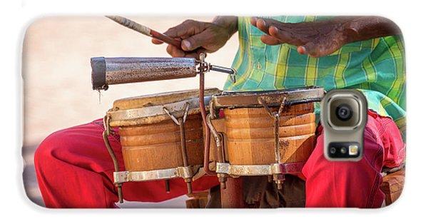 Drums Galaxy S6 Case - El Son De Cuba by Delphimages Photo Creations