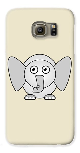 Elephant - Animals - Art For Kids Galaxy S6 Case by Anastasiya Malakhova