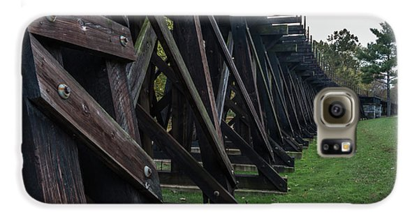 Harpers Ferry Elevated Railroad Galaxy S6 Case