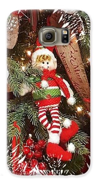 Elf In A Tree Galaxy S6 Case