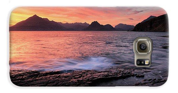 Elgol Sunset - Isle Of Skye 2 Galaxy S6 Case by Grant Glendinning