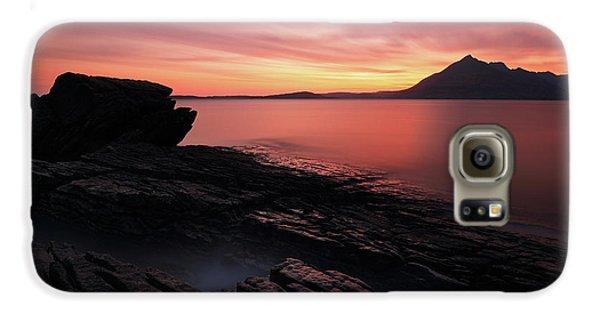 Elgol Sunset - Isle Of Skye Galaxy S6 Case by Grant Glendinning