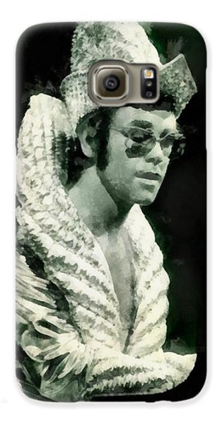 Elton John By John Springfield Galaxy S6 Case by John Springfield
