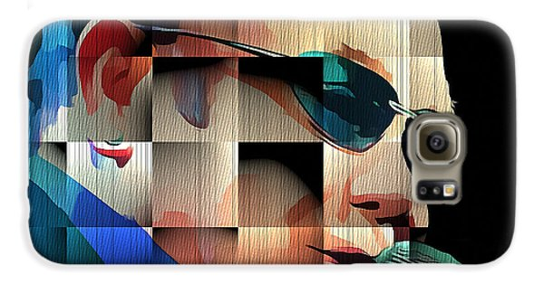 Elton John In Cubes 1 Galaxy S6 Case by Yury Malkov